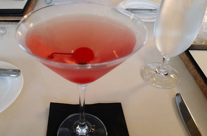 Sanderling Resort, Cocktail at Kimball's Restaurant