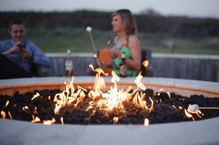 Sanderling Resort, Fire Pit