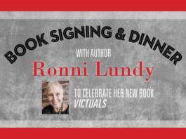 Victuals Book Signing and Dinner