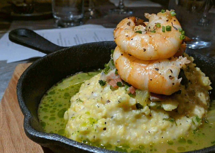 Shrimp and Grits, The Bistro at Topsail