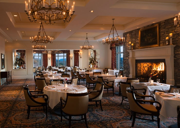 The Dining Room At The Inn On Biltmore Estate Named Four Star Restaurant Carolina Epicurean